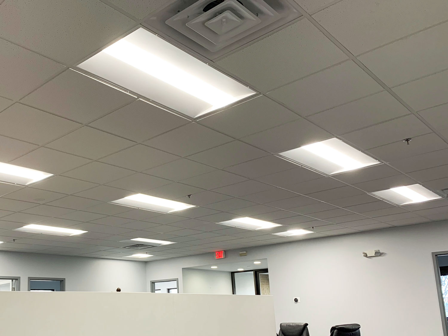 LED Volumetric Retrofit in office application