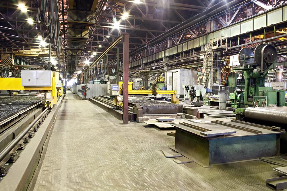 480V Machinery Plant